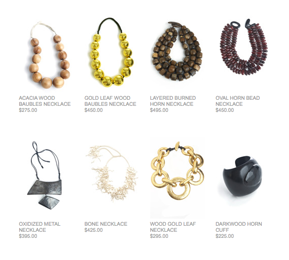 Natori necklaces