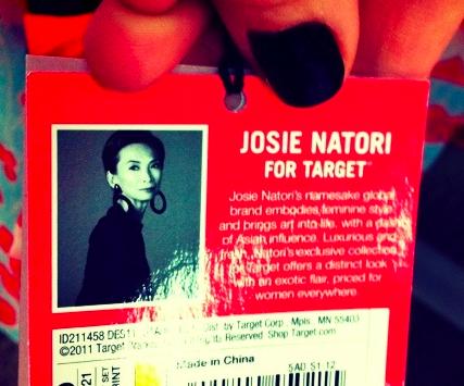 Josie Natori for Target