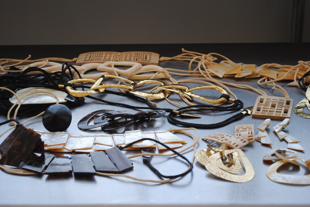 Natori earrings and bracelets