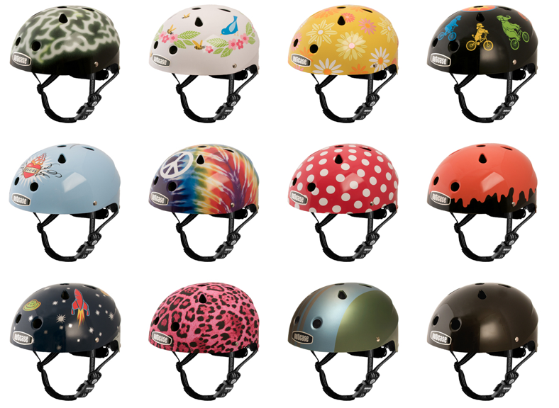 some of the helmets