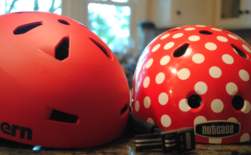 red helmets