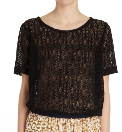 The Alex top. I am excited to wear this in a casual environment, or a dressier occasion.