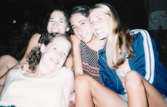 Yep, a picture from back in the day. Circuit 1997, when our Israel foursome started to visit each other every summer.