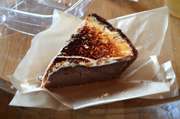 S'mores Pie. Absolute perfection.