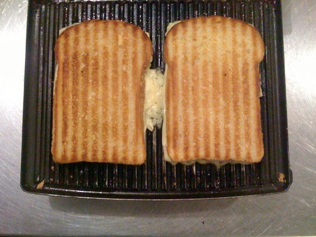 Grilled cheese.