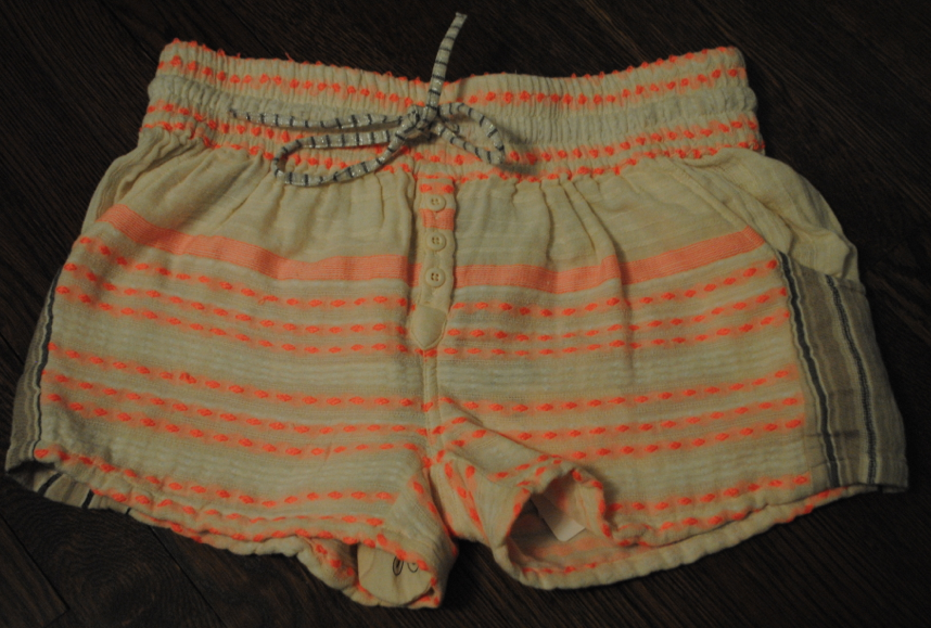 My newest addition. NEON, STRIPED, BOOTIE shorts. What, what!!!