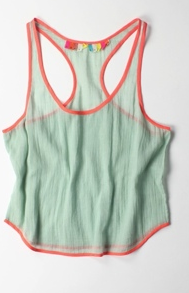 Easy, soft, light, gauze, flattering, fresh tank.