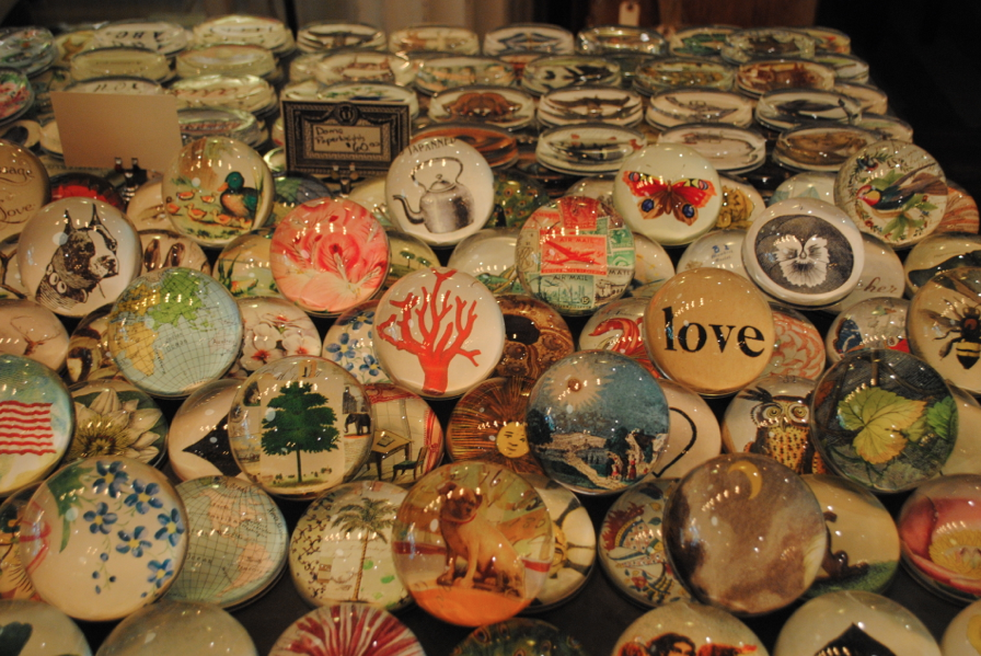 Paper weights.