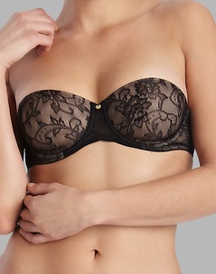 Calais strapless! So lacey, racy, and fun!