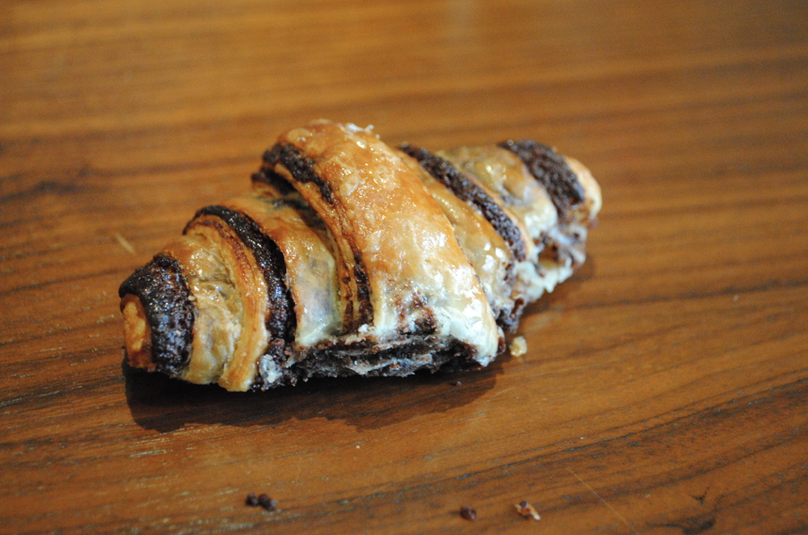Rugelach. Bite sized. But in this picture it looks huge.
