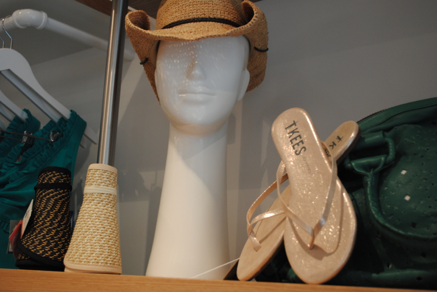 Lots of fun accessories -- not just swimsuits!