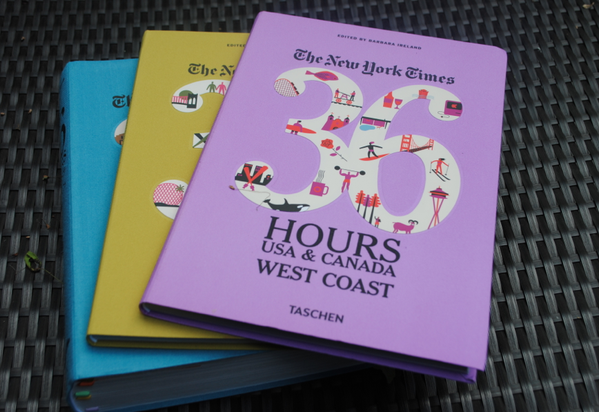 The colorful trio of books.