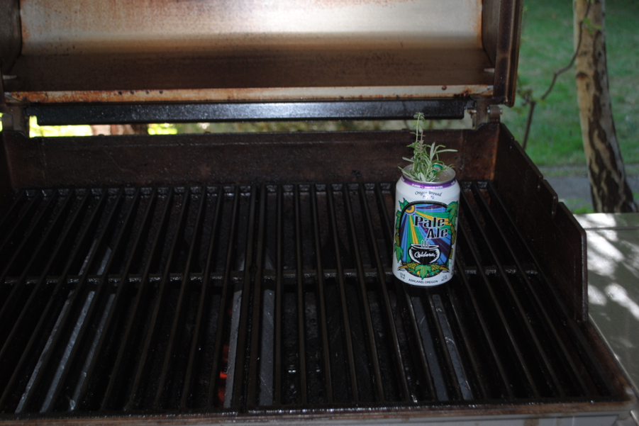 Lonely beer can.