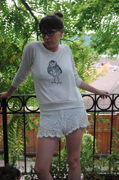 Midge in a Burrowing Owl.