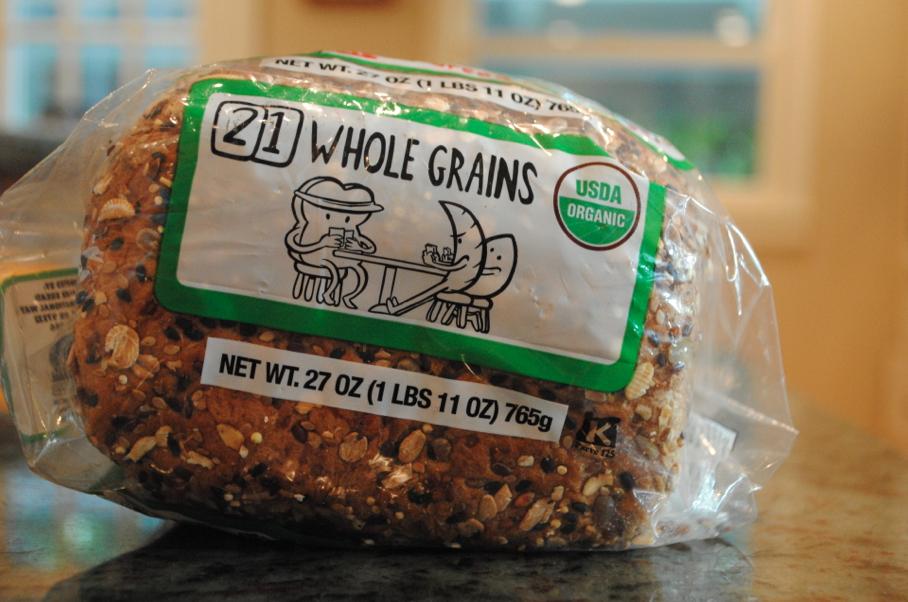 21 whole grains.