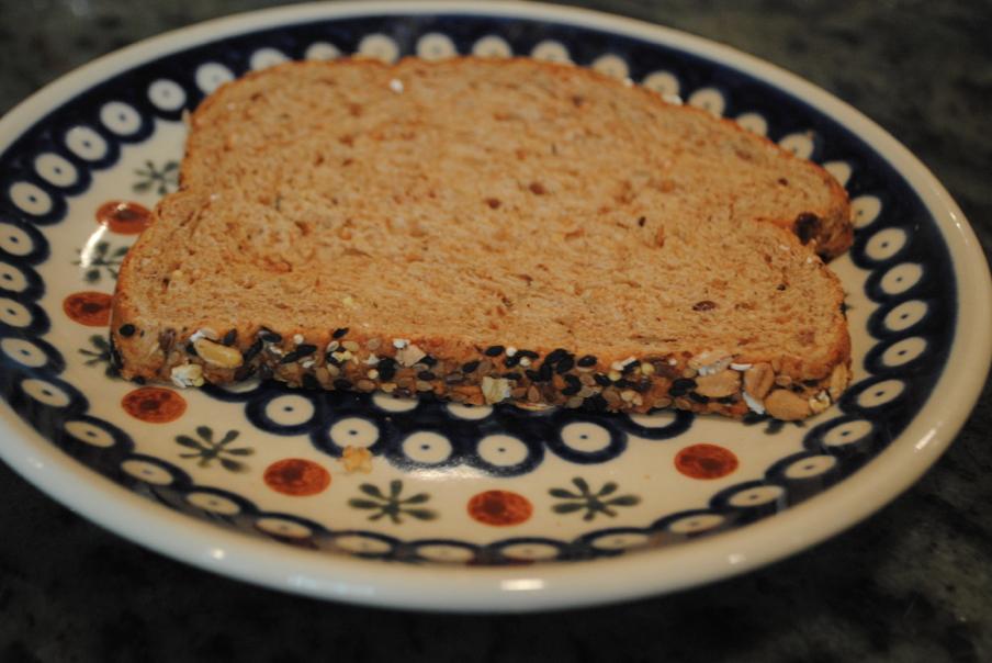 Bread slice.