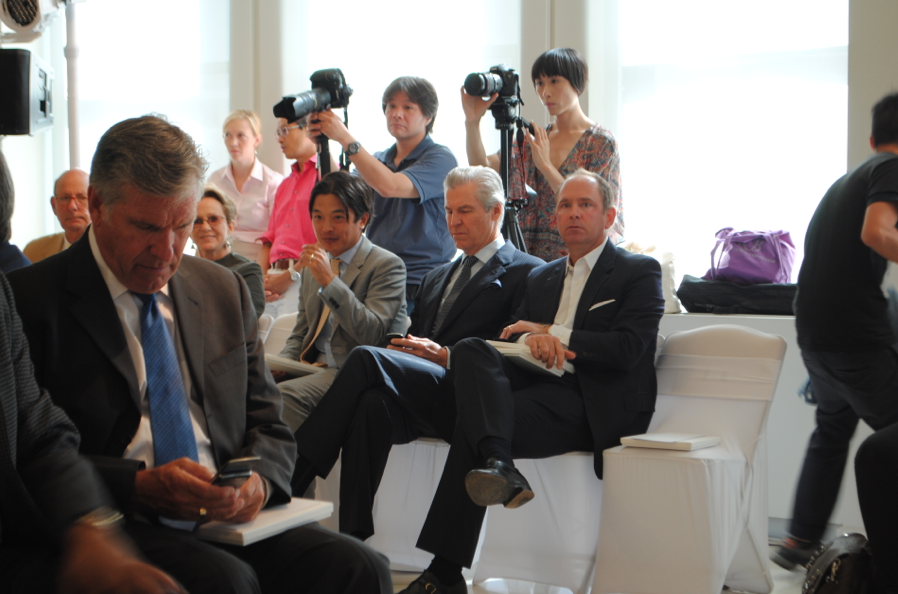 Guapo husband with Terry Lundgren.
