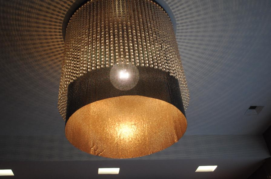Divine light fixture.