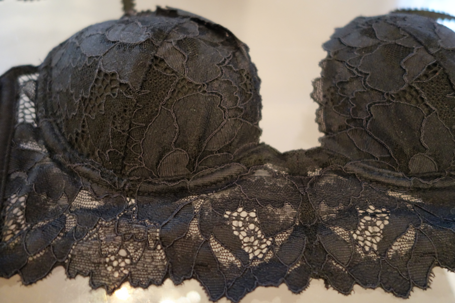 There is something so soft and romantic about the 3/4 lace bra. I love love love it.