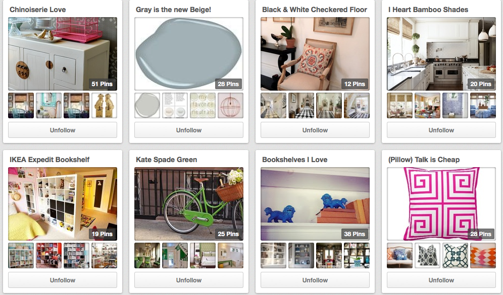 Lorri's Pinterest board.