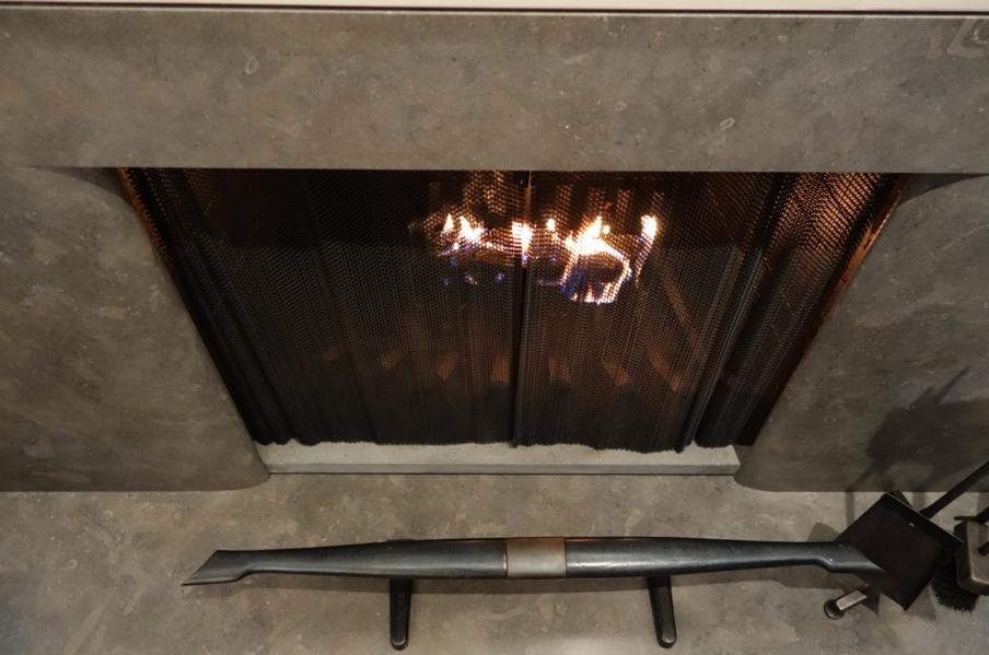 Fireplace. HEAVEN.