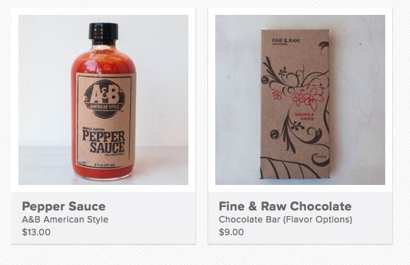 Brooklyn food products, too!