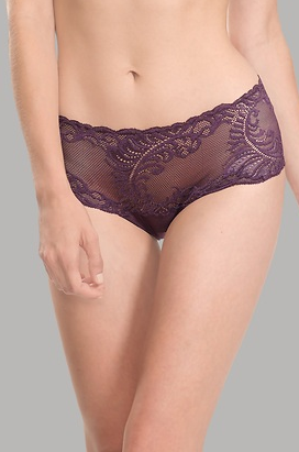 Feathers. The perfect pair of undies.