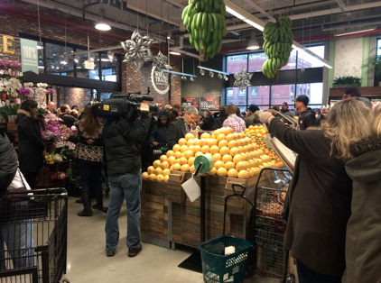Brooklyn LOVES local and the store was celebrating and highlighting local all throughout.