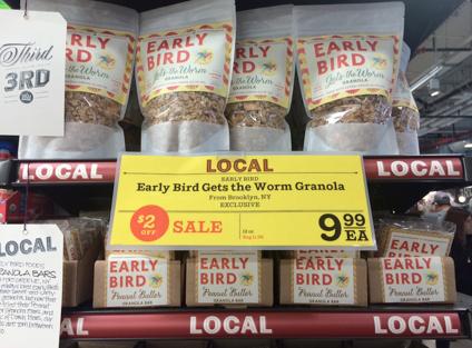 Local granola