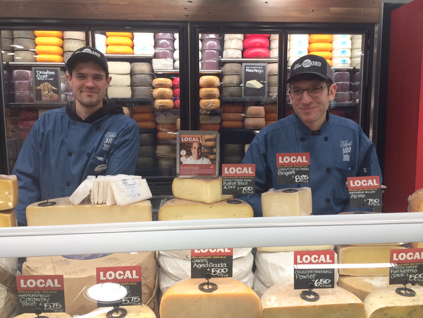 Local cheese.