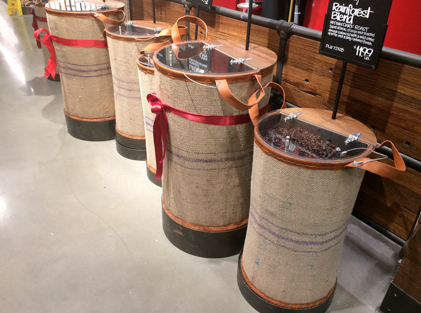 Pretty coffee bins!