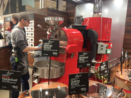 The most sophisticated roaster in any Whole Foods market: