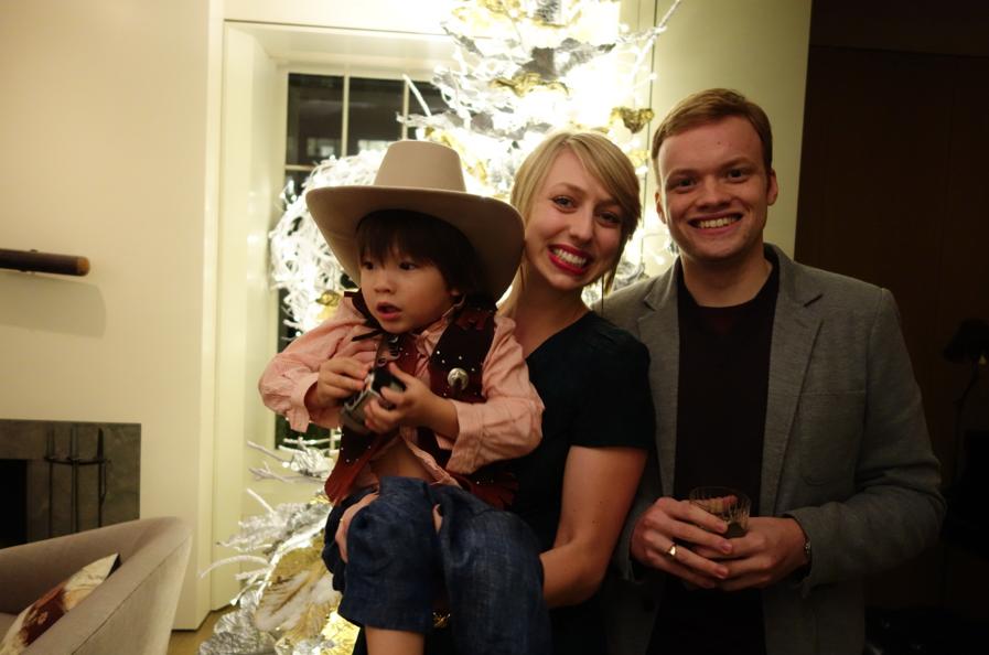 Auntie Galen, Uncle Carl, and Big Boy Cowboy Cruzzie.