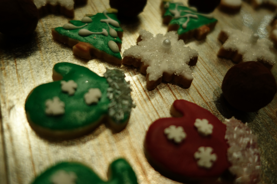 Thumprint cookies that were super teeny and tiny, and oh-so-intricate.