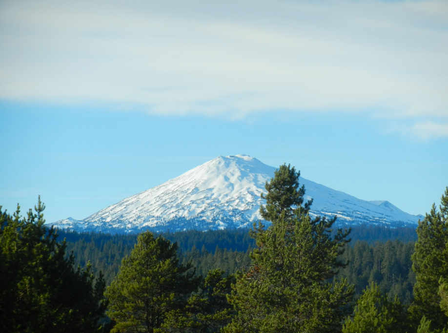 Our beloved, Mt. Bachelor.