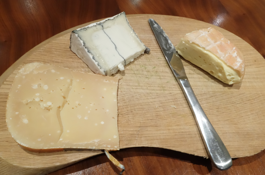 3 cheeses!
