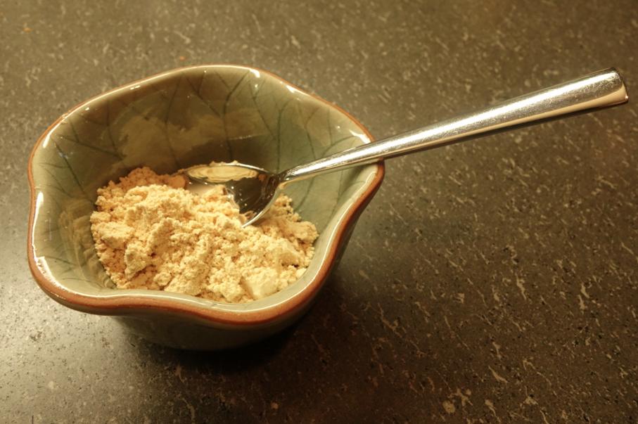 Powdered amount.