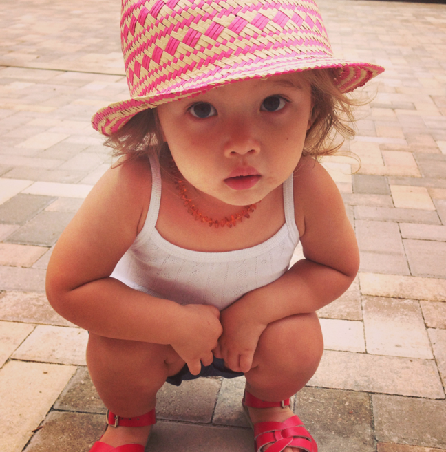 And how cute is little Tusia in this hat?