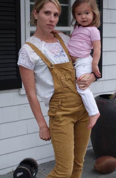 Who cares what I am wearing when I carry Baby Zoe? She is the BEST accessory and outfit maker EVER. I will always look good with her on my hip.