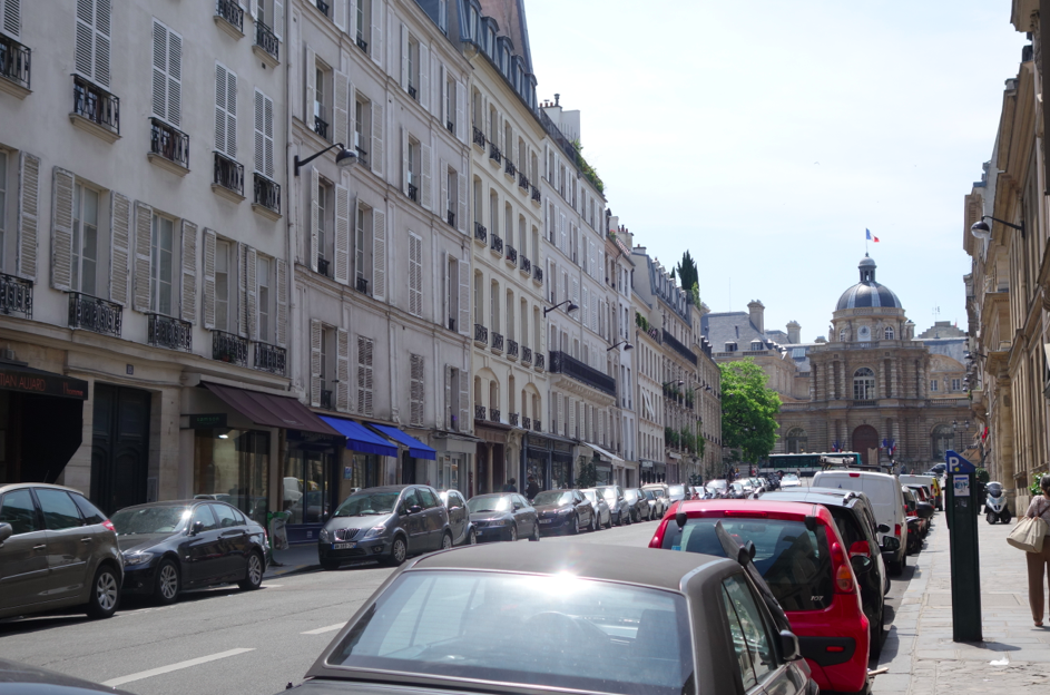 Just an ordinary street on a random corner, and yet, it is beyond beautiful and magical. Hashtag Paris.