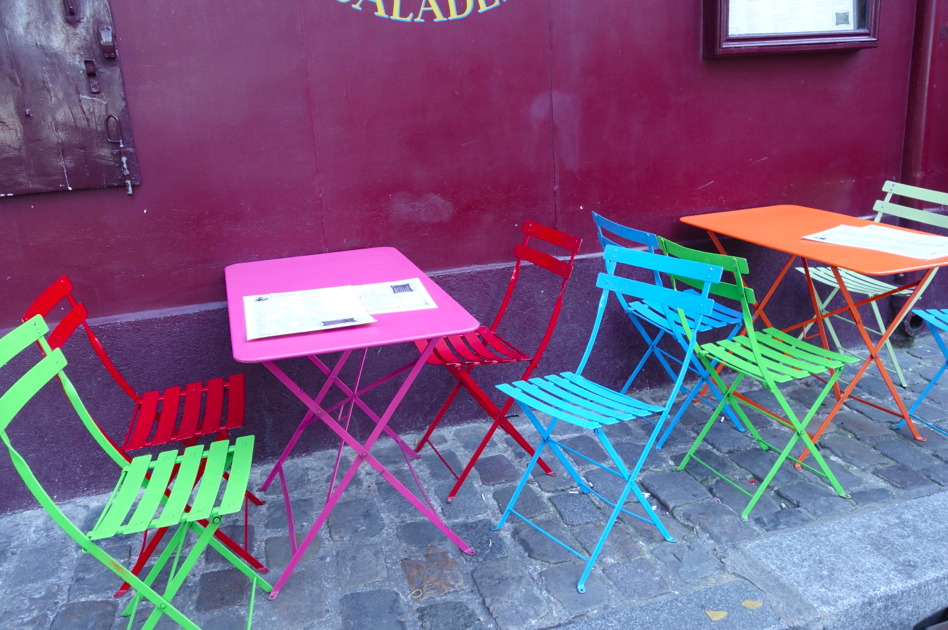 Colored Tables.