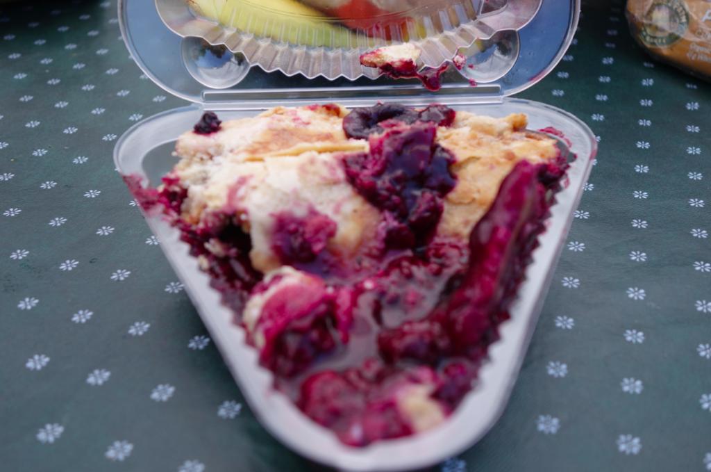 Marionberry pie. A true Oregonian classic.