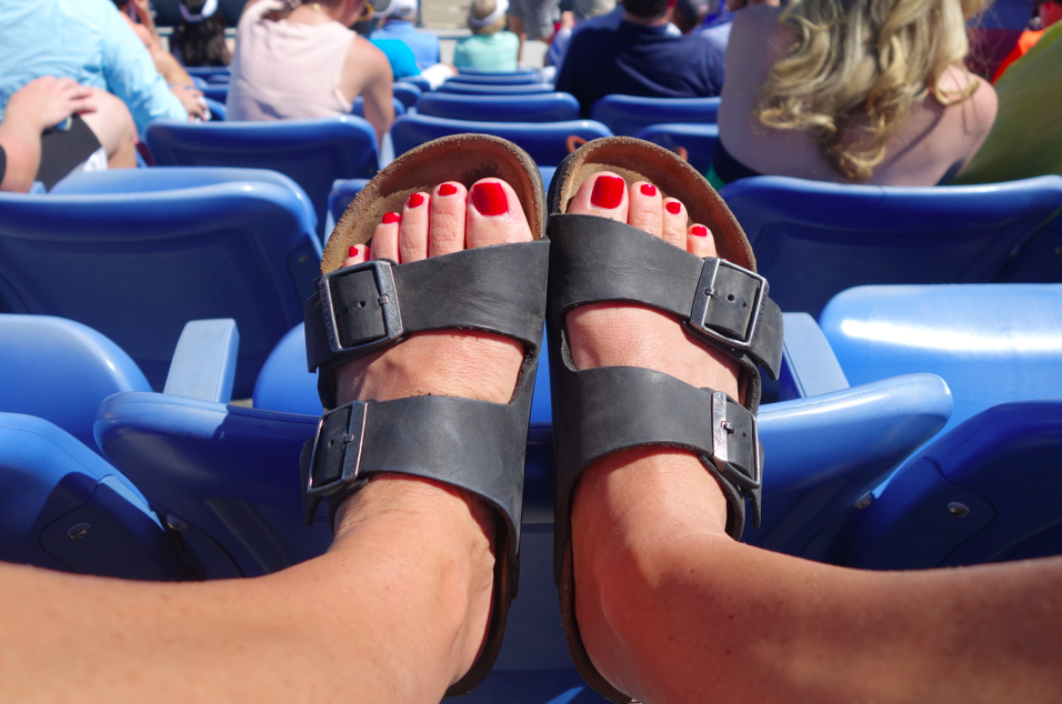 Who am I? Birkenstocks. My first and true love -- not just a 2014 summer fad, but a part of me forever and always.