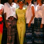 Josie Natori RTW Spring 2015 Fashion Show