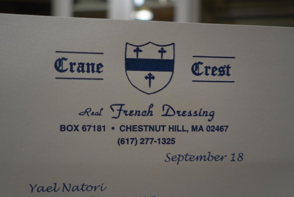 Crane Crest