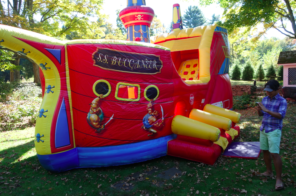 YUP. This is the bouncy castle.