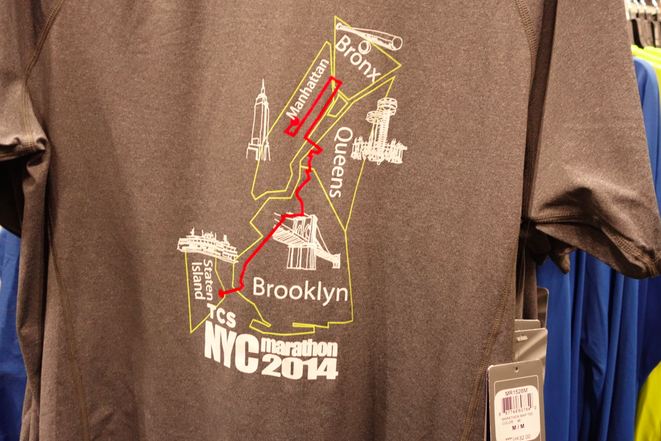 Map on a shirt.