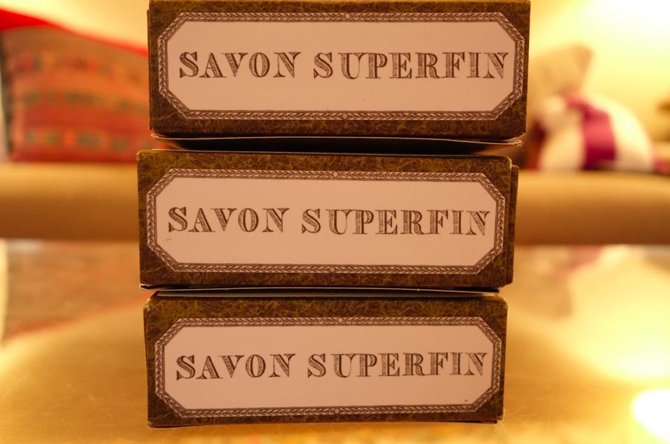 Savon. Soap.