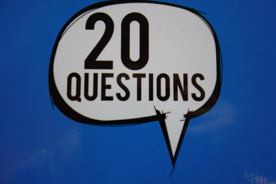 20 questions.