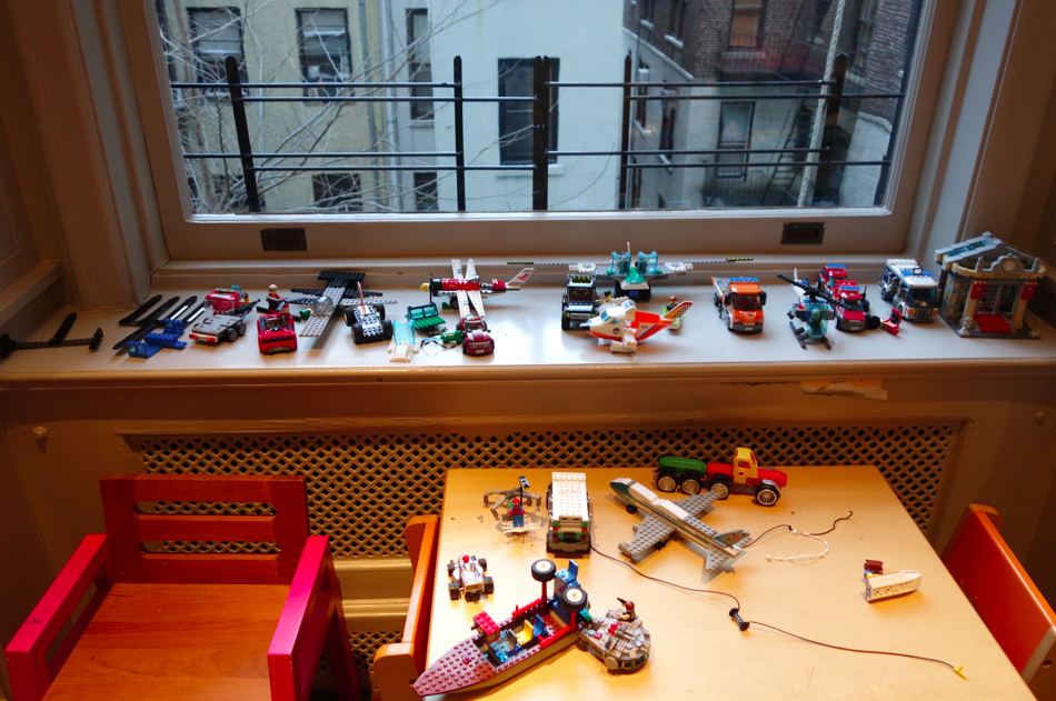Lego mess = my current reality.